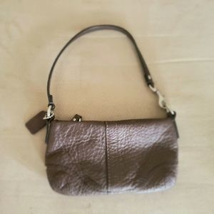 Coach bag (wristlet) brown leather
